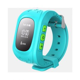 SQ50 Kék GPS nyomkövető óra gyerekeknek NEM érintőkijelzős