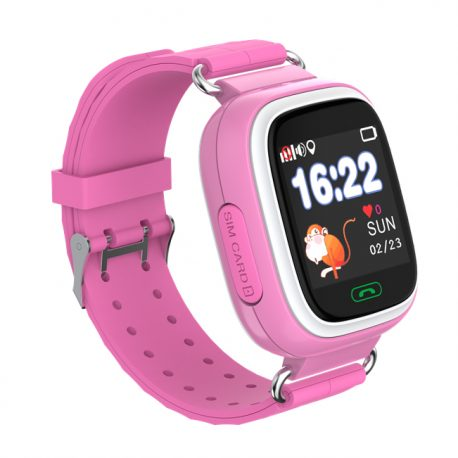 sq90 gps ora gyerek_igps_pink