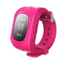SQ50 Pink GPS nyomkövető óra gyerekeknek NEM érintőkijelzős