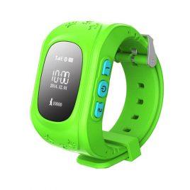 SQ50 Zöld GPS nyomkövető óra gyerekeknek NEM érintőkijelzős