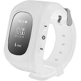 SQ50 Fehér GPS nyomkövető óra gyerekeknek NEM érintőkijelzős