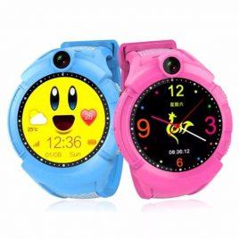 SG610 okos óra gyerekeknek GPS nyomkövetővel érintőkijelzős