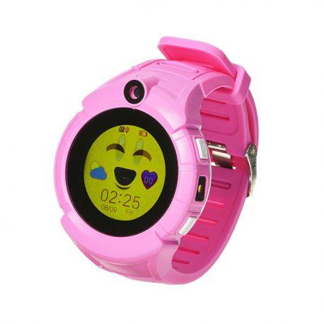 SG610 nyomkövető gps ora gyerek pink_1