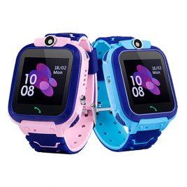 Z5s okos óra gyerekeknek GPS nyomkövetővel, érintőkijelzős
