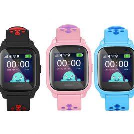 KT04 GPS okos óra gyerekeknek érintőkijelzős, vízálló